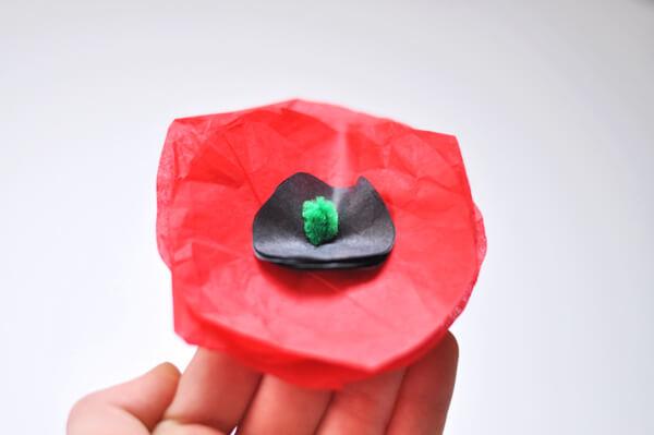 Tissue Flower Magnets 6