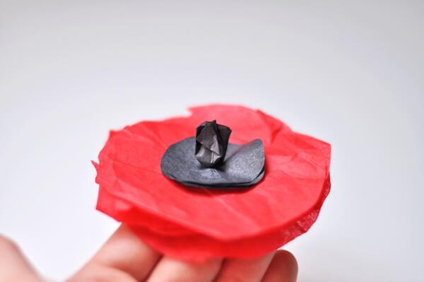 Tissue Flower Magnets 8