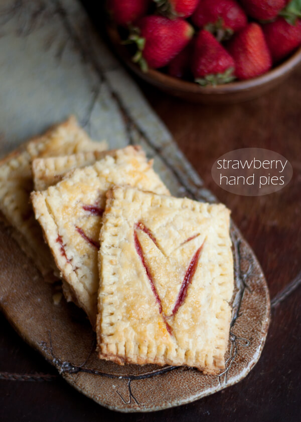 Recipe: Strawberry Hand Pies • this heart of mine