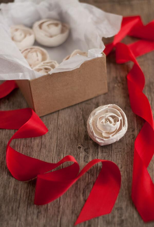 Plaster Flower Magnets | this heart of mine