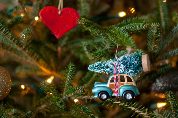 Car & Tree Ornament | this heart of mine - Car & Tree Ornament €� This Heart Of Mine