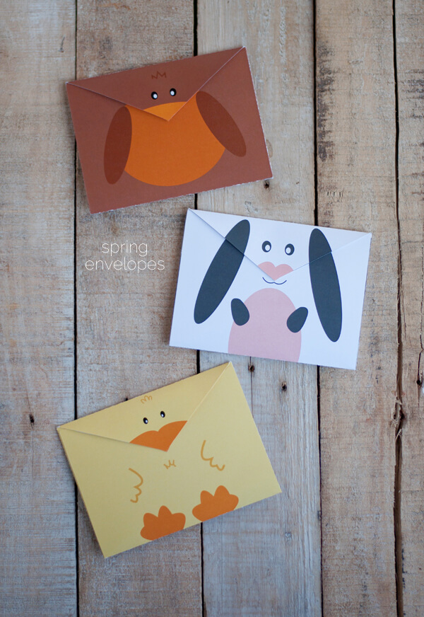 Free Printable Envelopes for Spring | this heart of mine