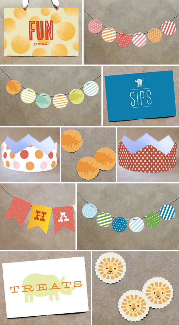 Endless Summer Projects: Circus Party | Classic Play - Pars Caeli - Lulu the Baker - Alexandra Hedin - this heart of mine