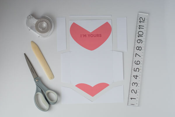 Conversation Heart Envelopes - free printable!! | this heart of mine