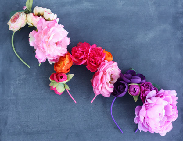 Faux Flower Headbands with Lulu the Baker | this heart of mine