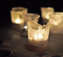 Outdoor Ice Votives