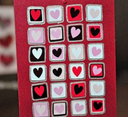 Valentine Sticker Ornaments