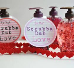 Valentine's Day Soap