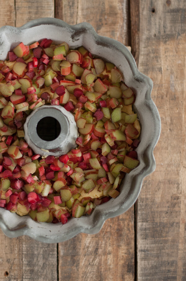 Recipe Rhubarb Bundt Cake With Rhubarb Syrup This Heart
