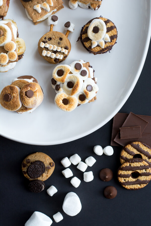 Monster S'more Bar | this heart of mine