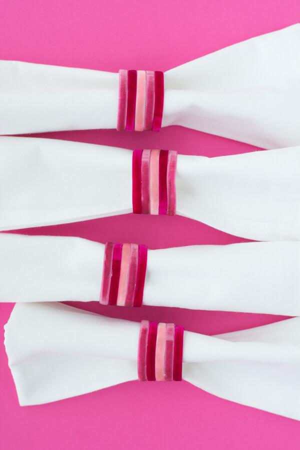 Easy Ribbon Napkin Rings | this heart of mine