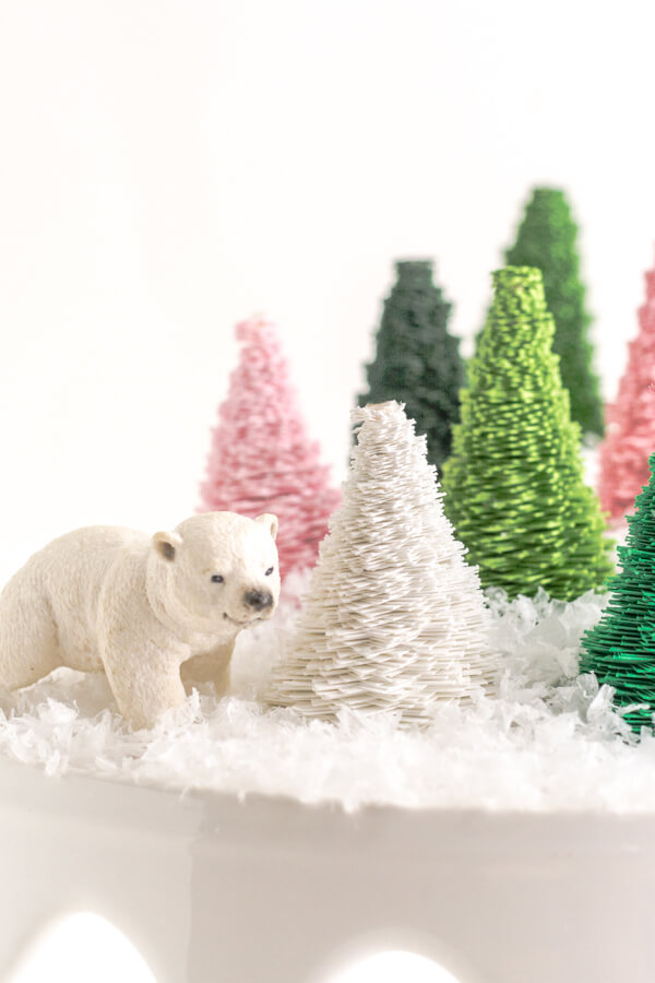 DIY: Paper Bottle Brush Trees with Design Mom   this heart of mine