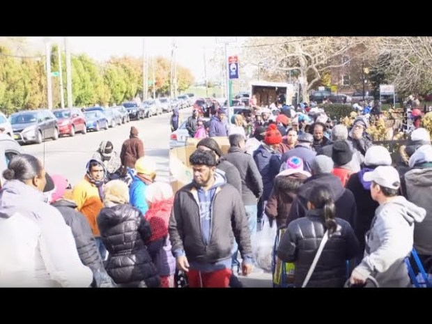 50 Cent & G-Unity Donate Over 500 Turkeys in Jamaica, Queens For Thanksgiving
