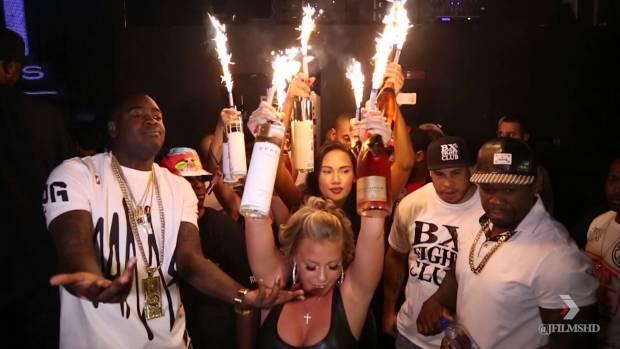 Kidd Kidd & 50 Cent Take Over Club Ibiza in New York City