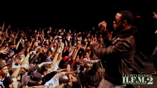 """Lloyd Banks ft Jeremih – """"I Don't Deserve You"""" The Video Before The Video – Live in NYC"""