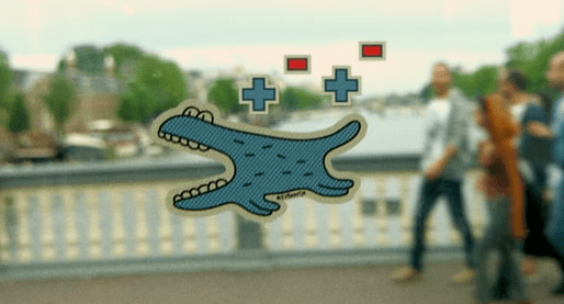 """COOL IDEAS:  low-tech """"augmented reality"""""""
