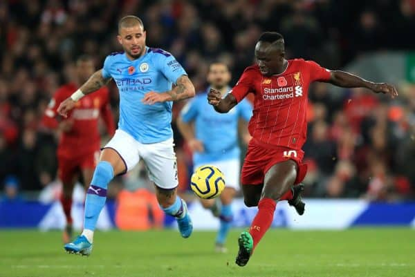The Manchester City v Liverpool match on July 2 is the only Premier League fixture without a confirmed venue at the moment (Peter Byrne/PA)
