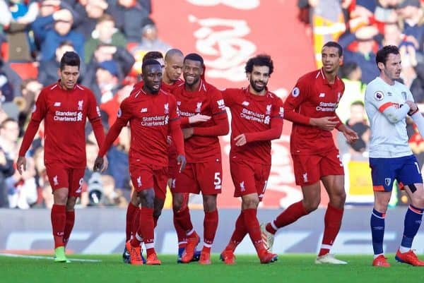 Image result for liverpool 3-0 bournemouth