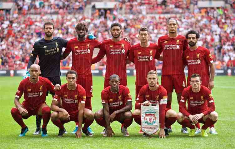 Liverpool FC Lineup Selector - This Is Anfield