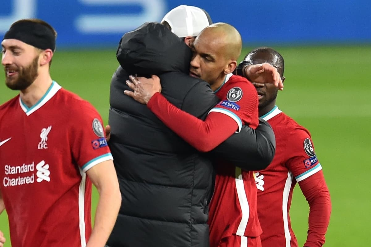 """Klopp admits """"we all want Fabinho in the No. 6"""" after standout display vs.  Leipzig - Liverpool FC - This Is Anfield"""