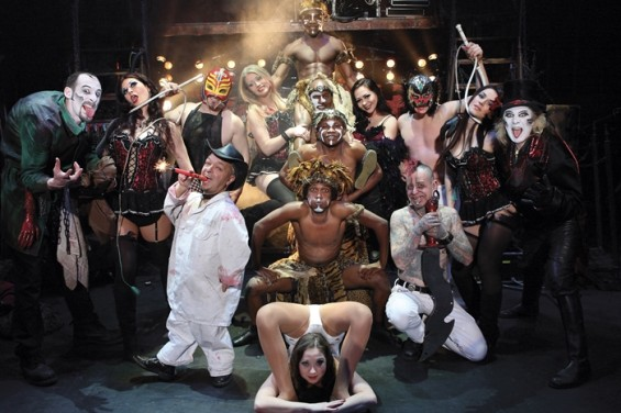 Circus of Horrors are one of the troupes featured in Douglas McPherson's book