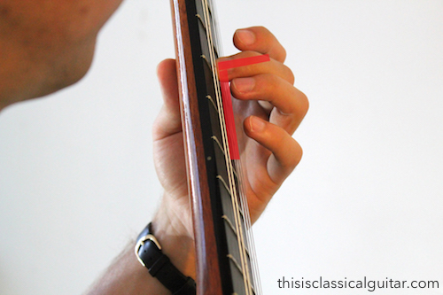 brad-Left Hand Fingers (second finger diagram) - Classical Guitar-2-2016