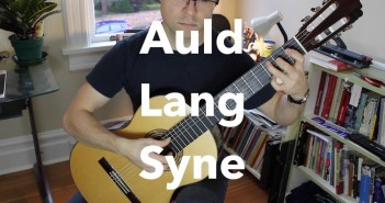 Auld Lang Syne for Guitar (free)