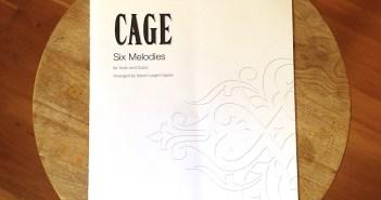 Six Melodies - John Cage - guitar, violin