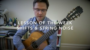 Lesson: Shifts String Noise on Guitar