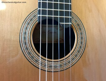 De Casicia - Sylvia Classical Guitar - Rosette