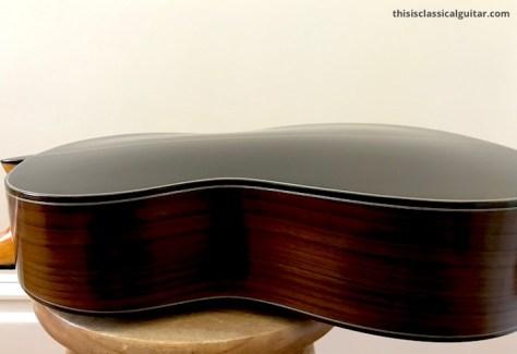 De Casicia - Sylvia Classical Guitar - Back