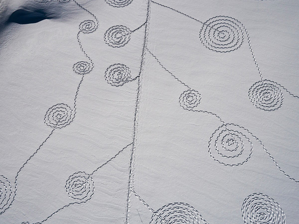 Snow Drawings at Rabbit Ears Pass by Sonja Hinrichsen snow photography