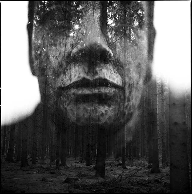 Analog Double Exposure Photographs by Florian Imgrund photography