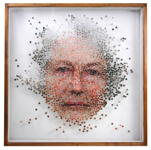 Photographic Specimens by Michael Mapes sculpture multiples collage