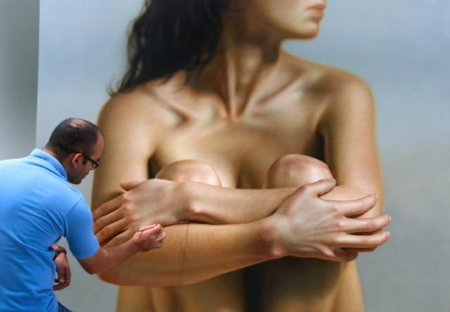 Hyper realistic Painting by Omar Ortiz painting art