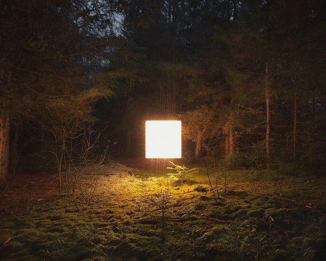 Illuminated Landscapes by Benoit Paillé light landscapes
