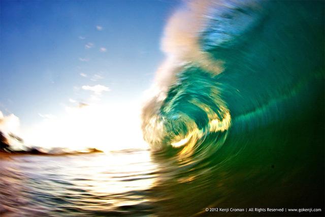 Wave Photographs by Kenji Croman waves water ocean