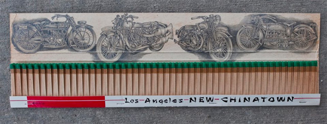 Tiny Illustrations Drawn Inside Matchbooks by Jason DAquino matches drawing