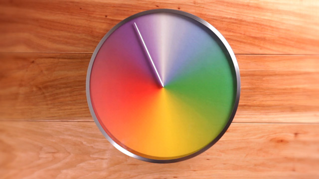 The Present: An Annual Clock that Tells Time in Seasons seasons color clocks