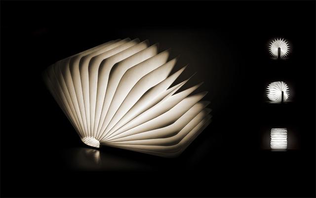 Lumio: A Portable Light that Folds like a Book lighting books