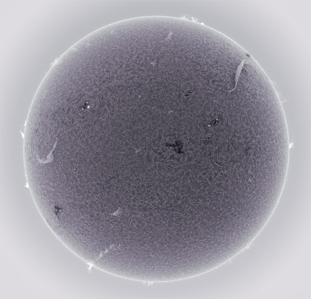 Alan Friedmans Astonishing HD Photographs of the Sun Shot from his Own Backyard sun science astronomy