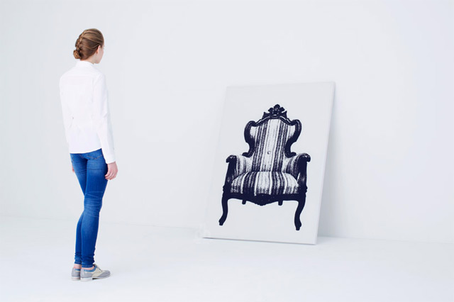 Canvas Furniture that Hangs on Your Wall by YOY furniture