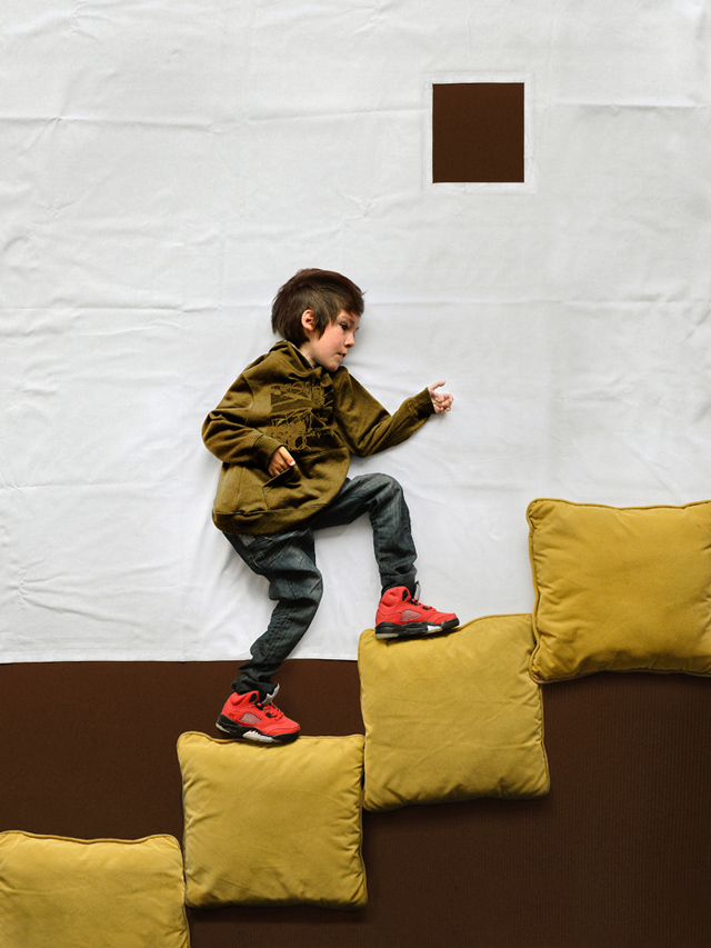 Photographer Takes a Boy with Muscular Dystrophy on an Imaginary Adventure portraits kids adventure