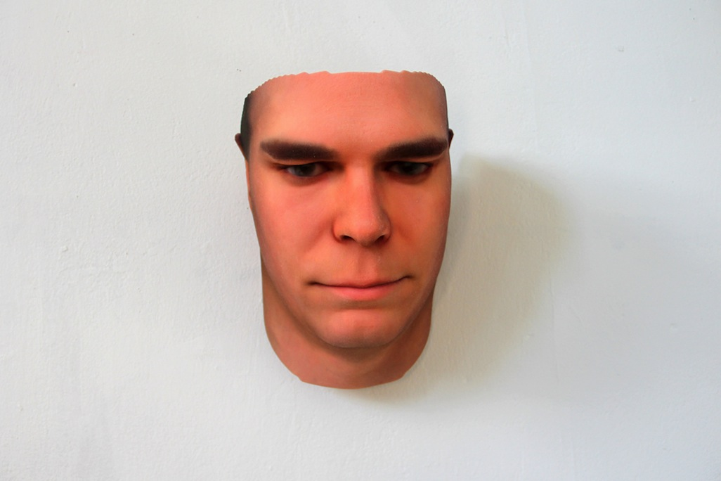 Stranger Visions: DNA Collected from Found Objects Used to Create 3D Portraits science portraits genetics DNA 3d printing