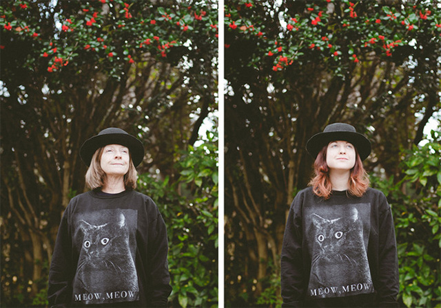 A Mother & Daughter Lookalike Photo Project by Carra Sykes portraits