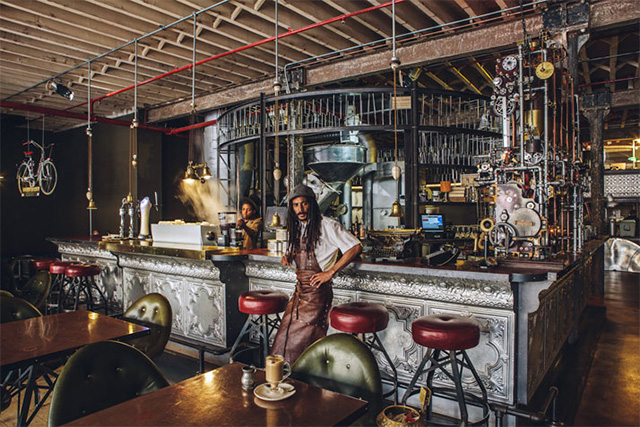 Step Inside Truth A Steampunk Coffee Shop In Cape Town