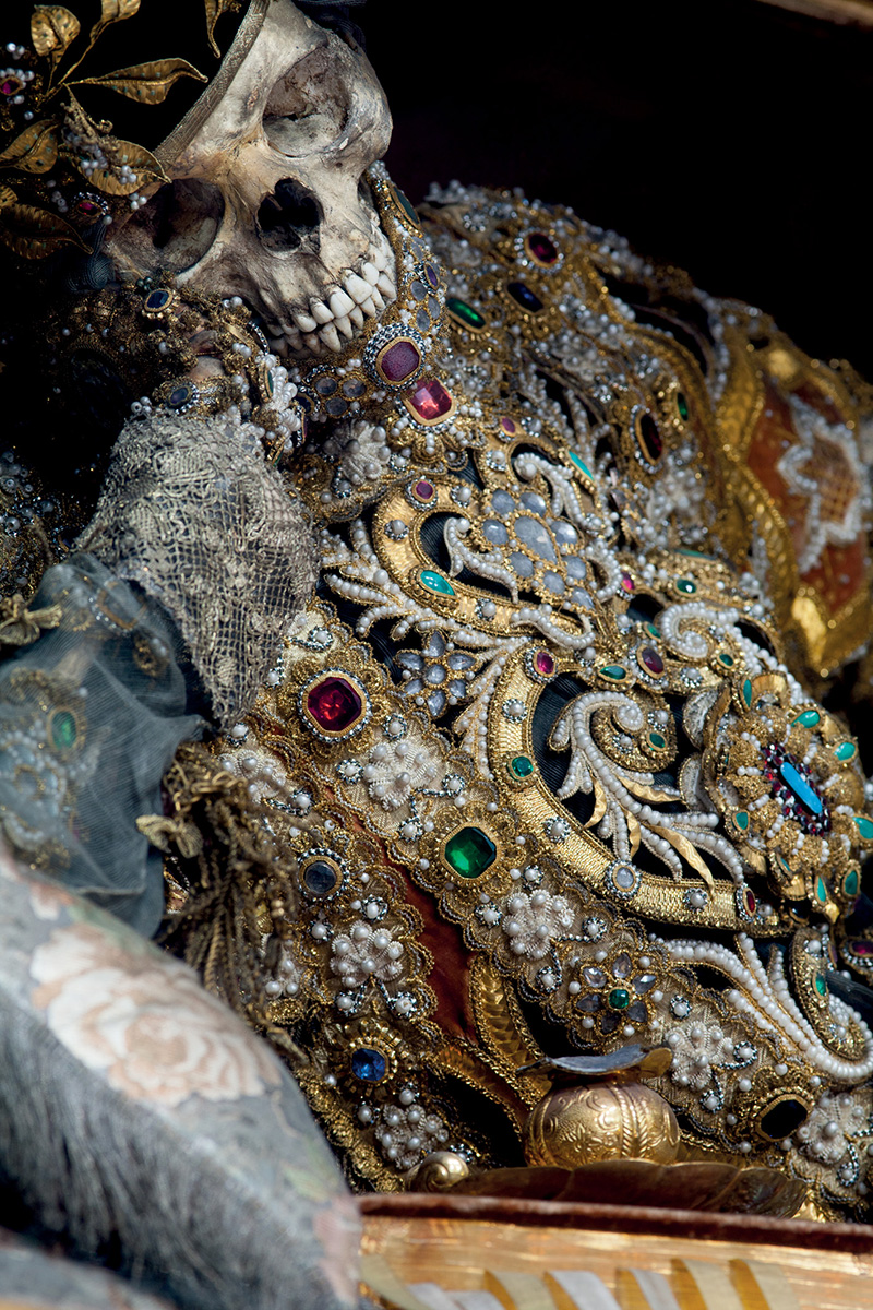 The Beauty of Death: Catacomb Saints Photographed by Paul Koudounaris history death bones