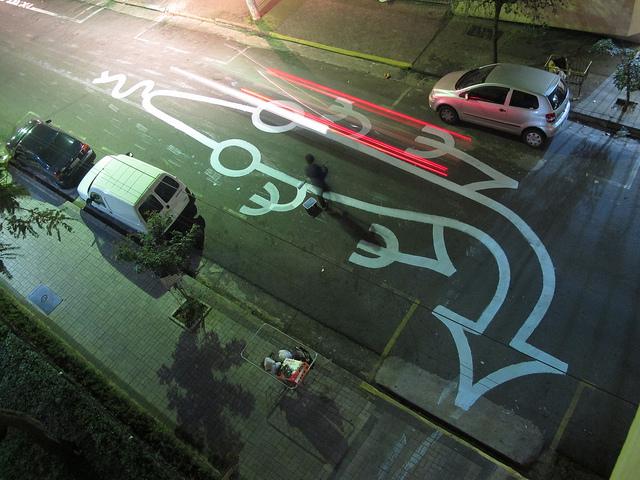 Crawling Art on the Streets of São Paulo by Tec street art Brazil
