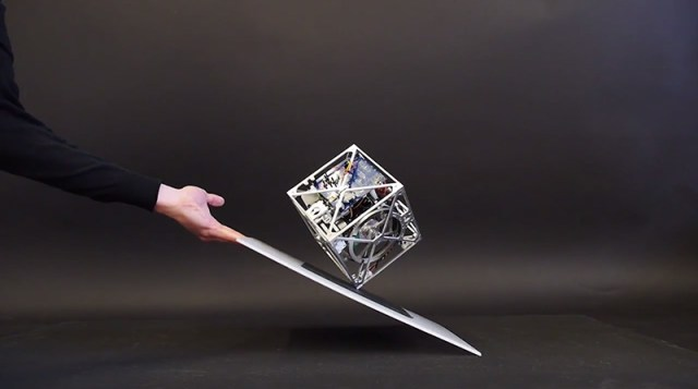 The Cubli: A Gravity Defying Cube that Can Jump, Balance, and Walk technology robotics
