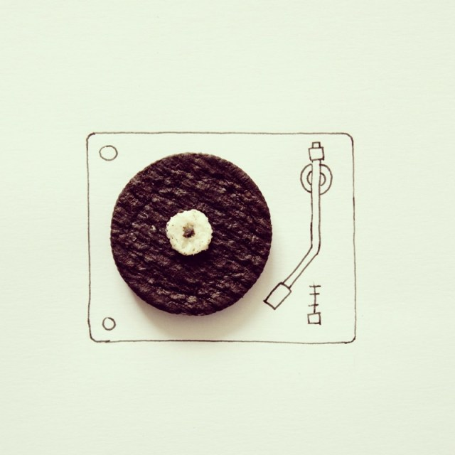 New Instagram Photos of Everyday Objects Turned into Whimsical Illustrations by Javier Perez illustration humor